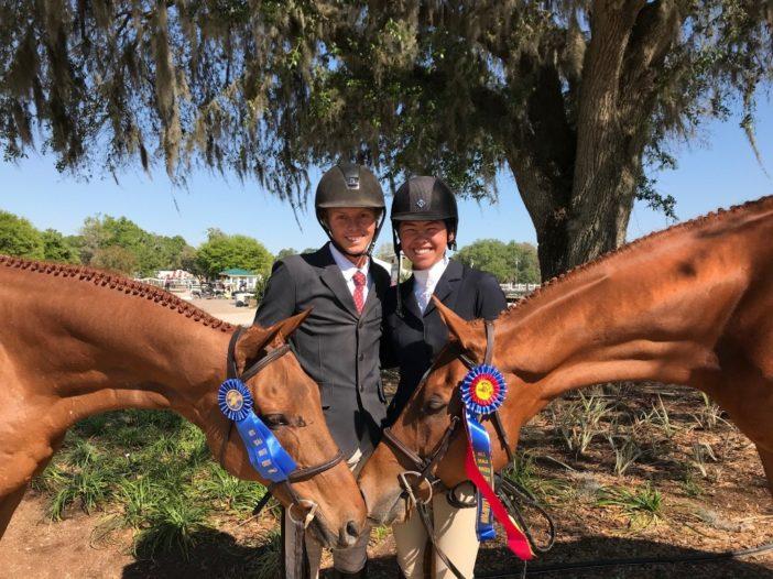TAKE2 News: Junior Riders Rule TAKE2 Hunter Division at HITS Ocala