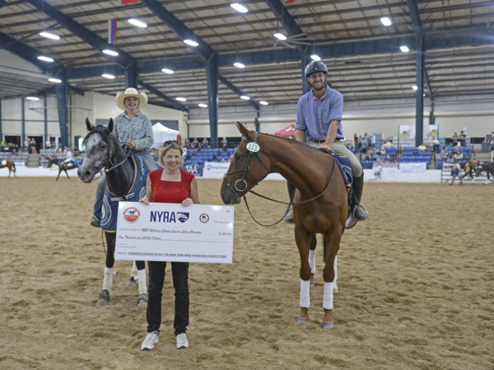 Retired Racehorse Project: New Thoroughbred Makeover Award for Top-Placed New York-Bred