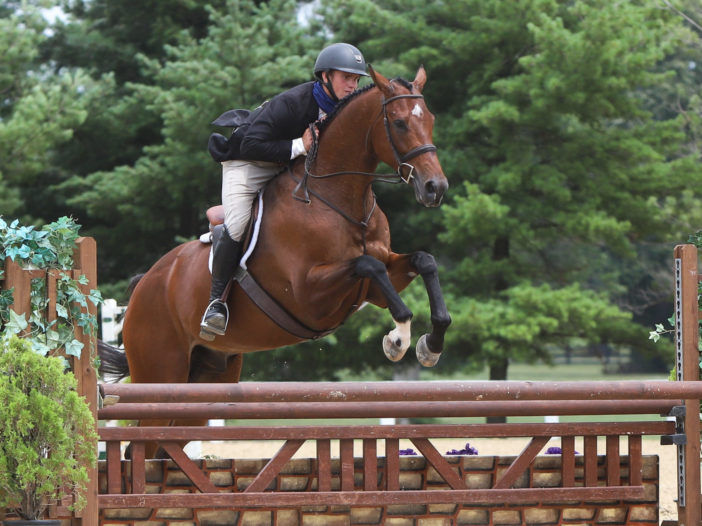 KY Horse Shows: Christopher Coberley and Mariner Strong in TAKE2 Hunters