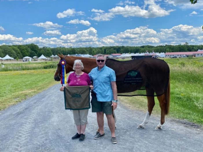 The Plaid Horse: Thoroughbred Navy Guard Finds Smooth Sailing In TAKE2 Division.