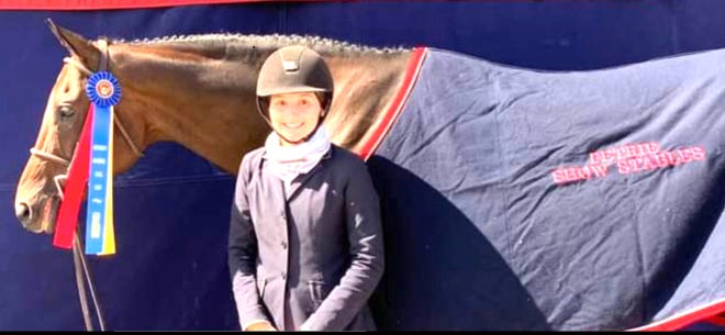 Record-Courier: Along the Way: Aurora's Jenna Drago tops in Kentucky National Horse Show