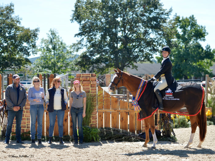 Paulick Report: MVP In The Show Ring: Former Racehorse Stars In $20,000 TAKE2 Finals